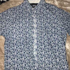 Men's dress short sleeve shirt